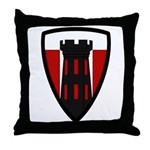 176th Engineer Throw Pillow