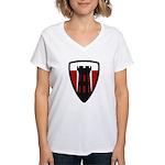 176th Engineer Women's V-Neck T-Shirt