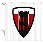 176th Engineer Shower Curtain