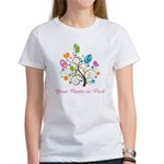 Personalized Easter Egg Tree Women's T-Shirt