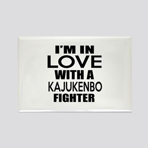 I Am In Love With Kajukenbo Fight Rectangle Magnet