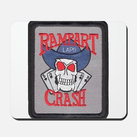 Rampart Crash Mousepad