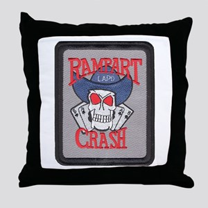 Rampart Crash Throw Pillow