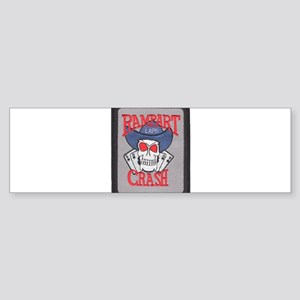 Rampart Crash Bumper Sticker
