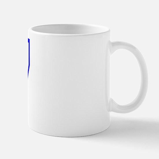 Varsity Uniform Number 67 (Blue) Mug