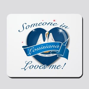 Louisiana Heart Designs Mousepad