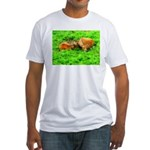 Nuzzling Cows Fitted T-Shirt