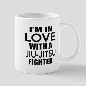 I Am In Love With Jiu-Jitsu Figh 11 oz Ceramic Mug