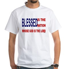 Blessed is the Nation Men's T-Shirt