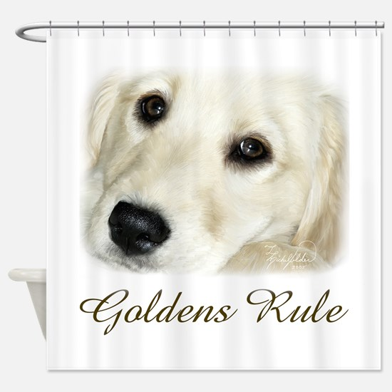Goldens Rule Shower Curtain