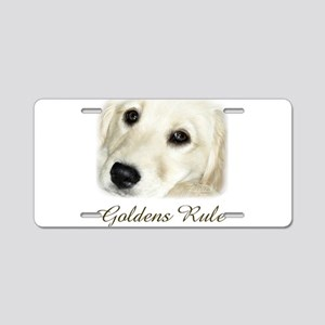 Goldens Rule Aluminum License Plate