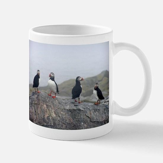 Unique Arctic puffin Mug