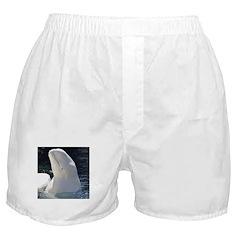 Beluga Whale Boxer Shorts
