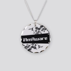 iAmAware Necklace Circle Charm