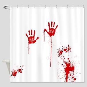 Horror Movie Shower Curtain