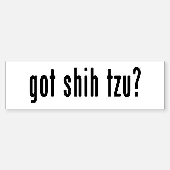 GOT SHIH TZU Sticker (Bumper)