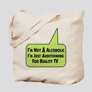 Alcoholic Audition / Tote Bag