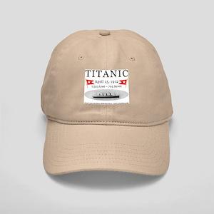 Titanic Ghost Ship (white) Cap
