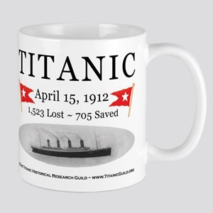 Titanic Ghost Ship (white) Mug