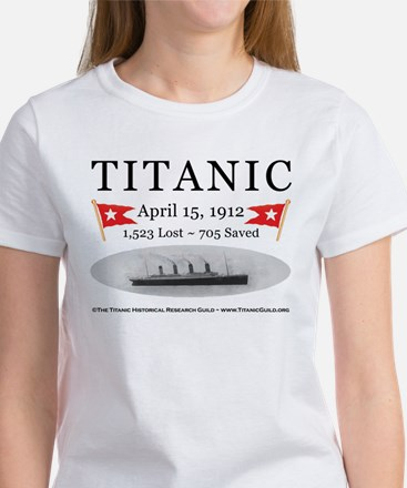 Titanic Ghost Ship (white) Women's T-Shirt