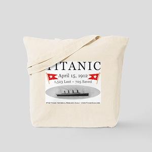 Titanic Ghost Ship (white) Tote Bag