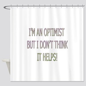 Optimist Shower Curtain