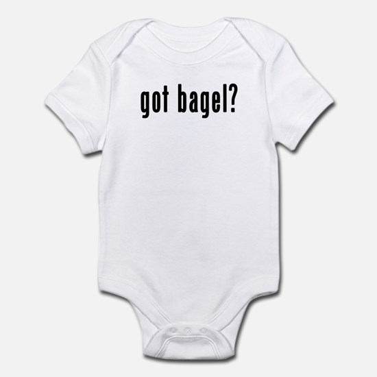 GOT BAGEL Infant Bodysuit