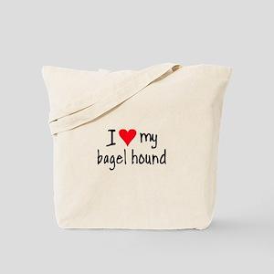 I LOVE MY Bagel Tote Bag