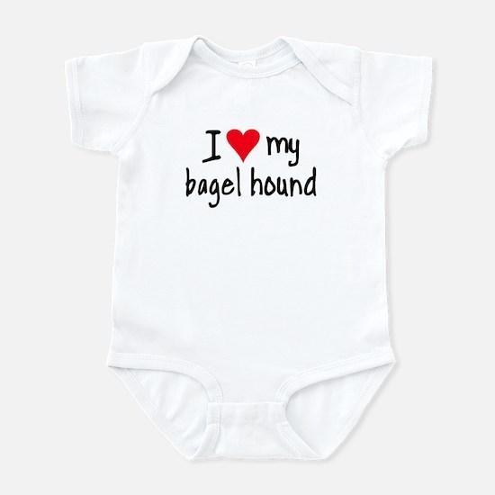 I LOVE MY Bagel Infant Bodysuit