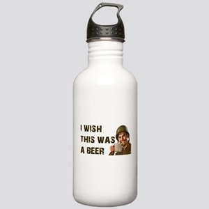 I Wish This Was A Beer Stainless Water Bottle 1.0L