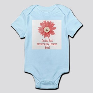 Best Mother's Day Present - P Infant Bodysuit