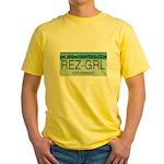 Colorado Rez Grl Yellow T-Shirt