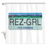 Colorado Rez Grl Shower Curtain