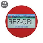 """Colorado Rez Grl 3.5"""" Button (10 pack)"""