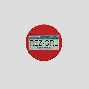 Colorado Rez Grl Mini Button