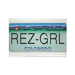 Colorado Rez Grl Rectangle Magnet (100 pack)