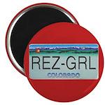 Colorado Rez Grl Magnet