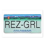 Colorado Rez Grl Postcards (Package of 8)