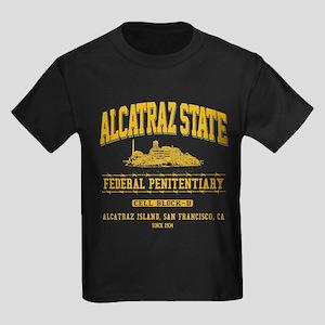 ALCATRAZ STATE Kids Dark T-Shirt