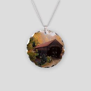 Vermont Covered Bridge Necklace