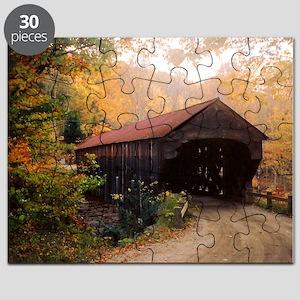 Vermont Covered Bridge Puzzle