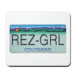 Colorado Rez Grl Mousepad