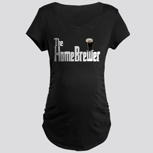 The HomeBrewer Stout Maternity Dark T-Shirt