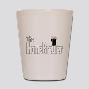 The HomeBrewer Stout Shot Glass