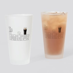 The HomeBrewer Stout Drinking Glass