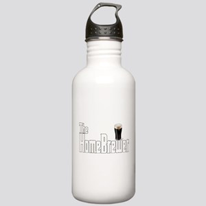 The HomeBrewer Stout Stainless Water Bottle 1.0L