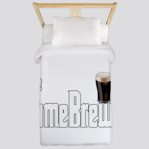 The HomeBrewer Stout Twin Duvet