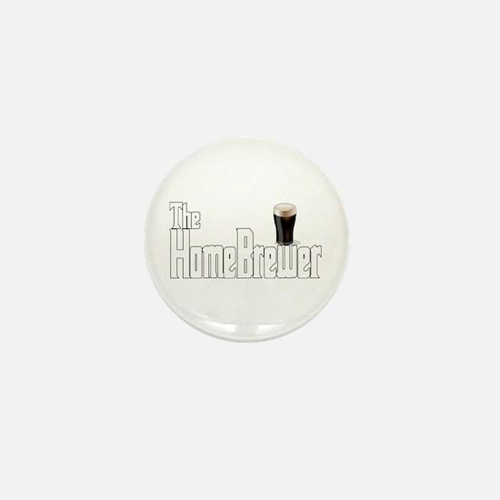 The HomeBrewer Stout Mini Button