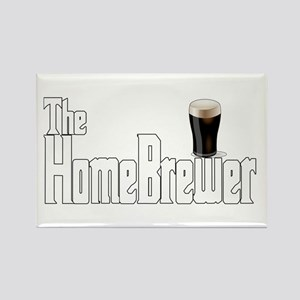 The HomeBrewer Stout Rectangle Magnet