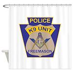 K9 Corps Masons Shower Curtain
